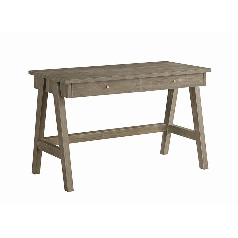 Charmant Paloma Sawhorse Leg Writing Desk
