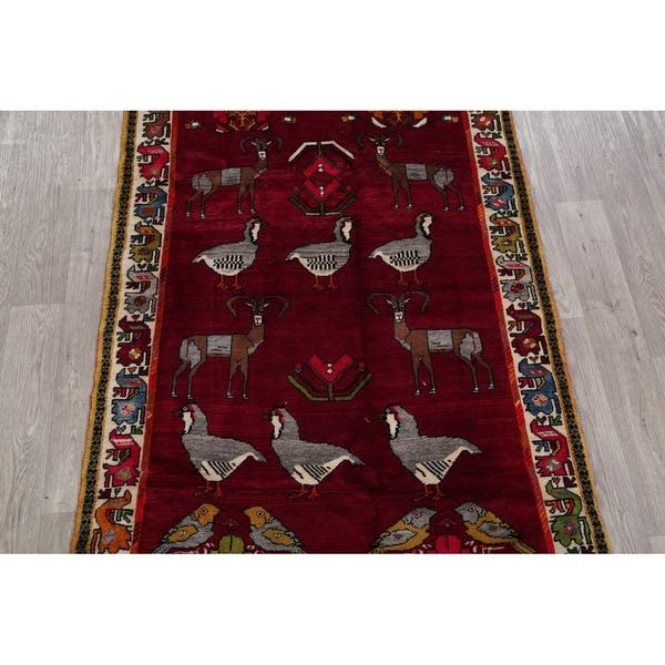 Hand Knotted Wool Persian Oriental