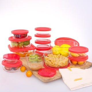 30 Piece Ovenproof Set with Easy Non-Snap Lids