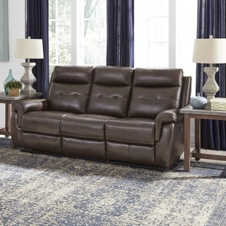Shop Home Styles By Flexsteel Lux Leather Power Motion