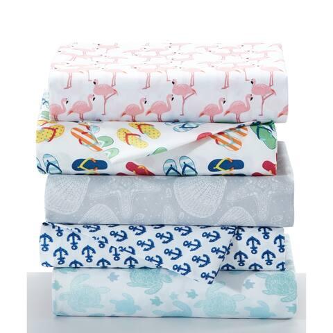 Porch & Den Wakefield Coastal 4-piece Bed Sheet Set