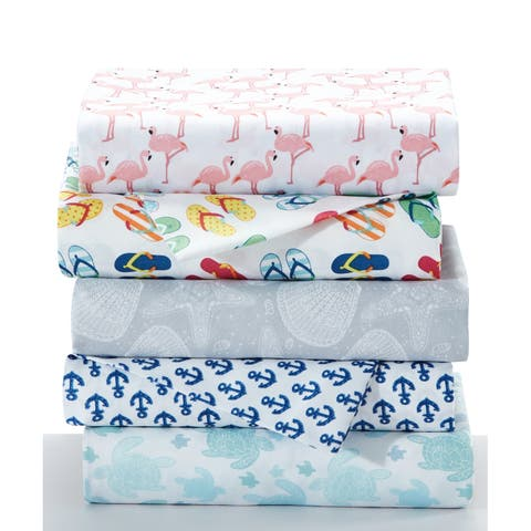 Porch & Den Wakefield Coastal 4-piece Sheet Set