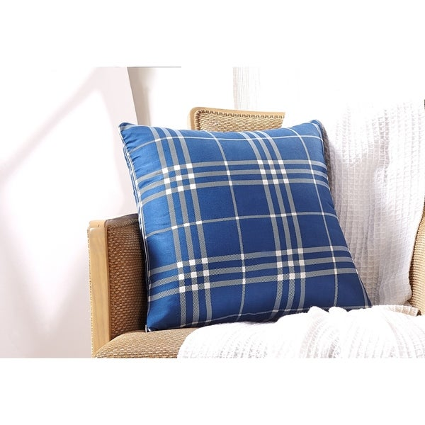 Harper Lane Payton Plaid Throw Pillow