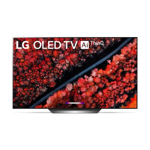 LG OLED77C9PUB C9 77 inch 4K HDR Smart OLED TV w/ AI ThinQ