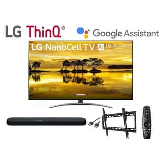 LG 55SM9000PUA Series 55 inch 4K HDR Smart LED NanoCell TV w/ Al ThinQ