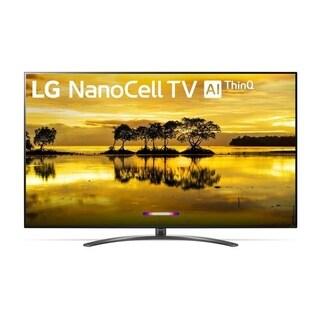 LG 75SM9070PUA Series 75 inch 4K HDR Smart LED NanoCell TV w/ AI ThinQ