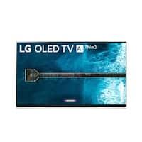 LG OLED55E9PUA 55 inch 4K HDR Smart OLED TV w/ AI ThinQ
