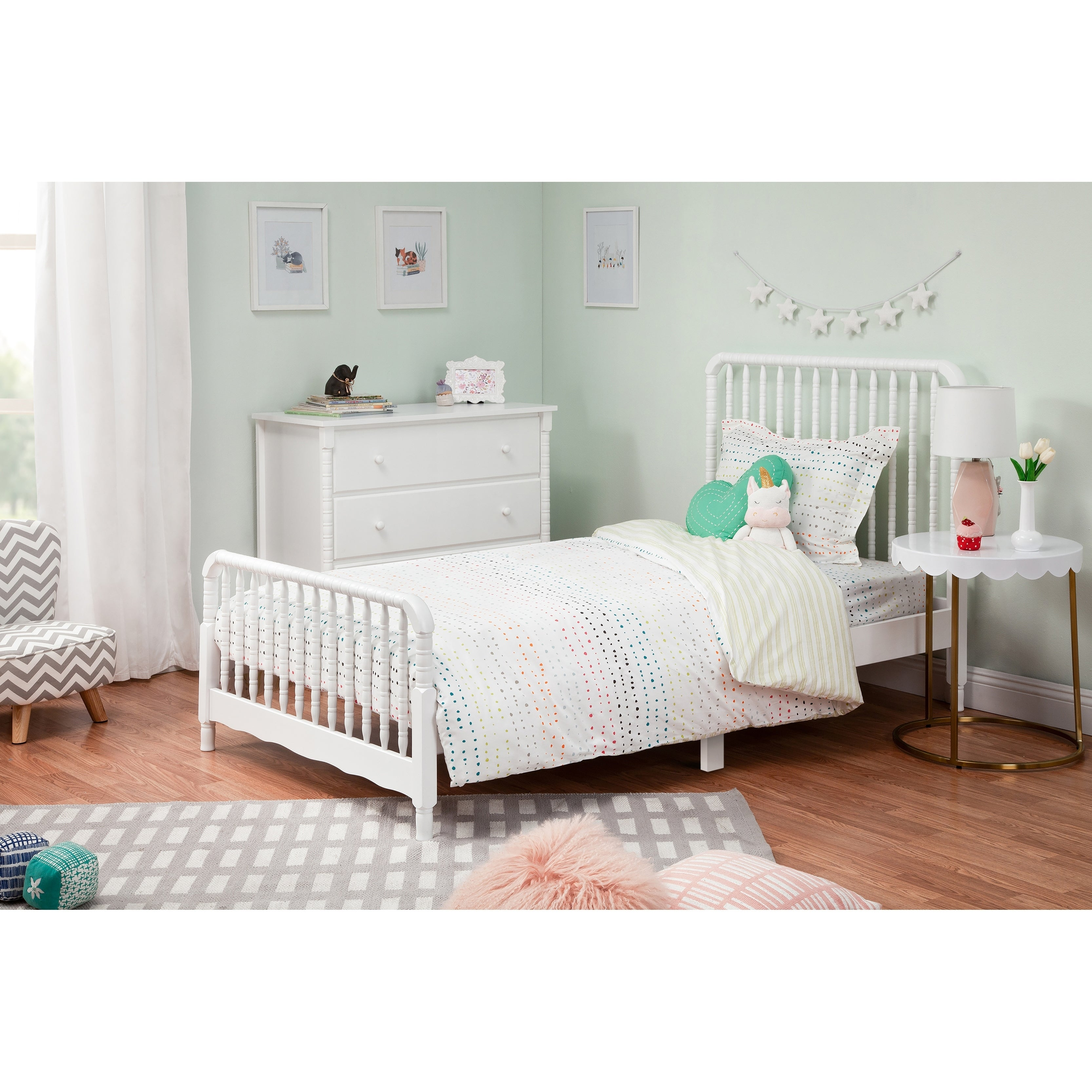 Davinci Jenny Lind Twin Bed Overstock 27961842 White