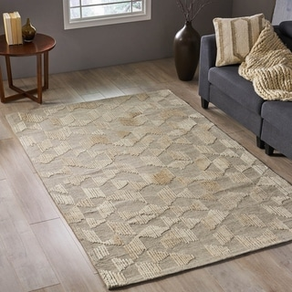 Link to Coralie Transitional Wool Area Rug by Christopher Knight Home - 5' x 8' Similar Items in Rugs