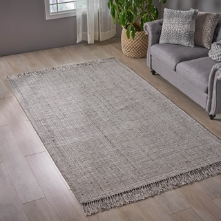 Belmar Boho Viscose and Wool Area Rug by Christopher Knight Home - 5' x 8'
