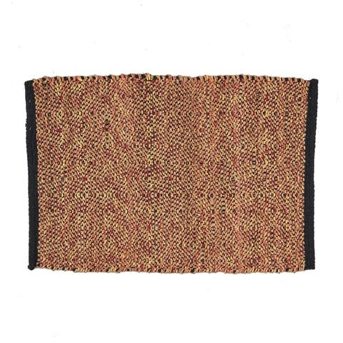Crossman Boho Hemp and Cotton Scatter Rug by Christopher Knight Home