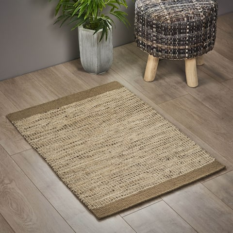 Broadstone Boho Wool Scatter Rug by Christopher Knight Home