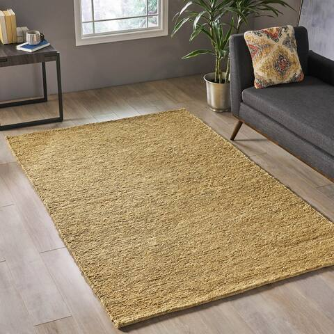 Alvaston Modern Hemp Area Rug by Christopher Knight Home - 5' x 8'