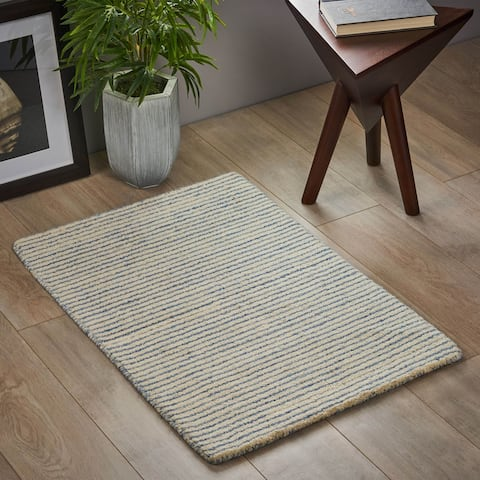 Bettyhill Boho Wool Scatter Rug by Christopher Knight Home - 2' x 3'