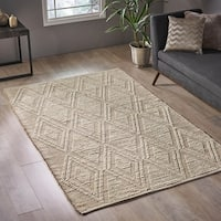 Dunkeld Modern Jute and Wool Area Rug by Christopher Knight Home