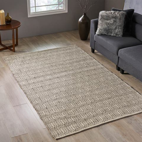 Christopher Knight Home Galveston Transitional Wool Area Rug - 4'11 x 8'1