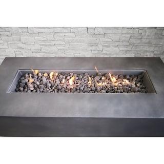Concrete Propane Gas Fire Pit Table