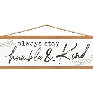 Always Stay Humble & Kind Banner Art