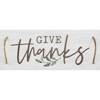 Give Thanks Decorative Tray
