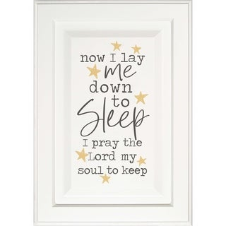 Now I Lay Me Down To Sleep I Pray The Lord My Soul To Keep Door