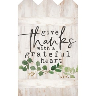 Give Thanks With A Grateful Heart Embellished Décor