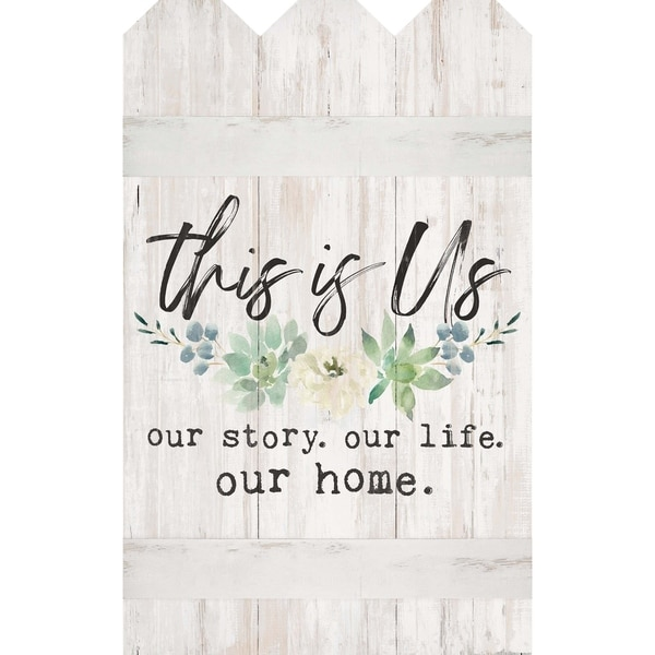 This Is Us Our Story. Our Life. Our Home. Embellished Décor