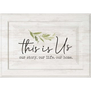 This Is Us Our Story Our Life Our Home Door - N/A