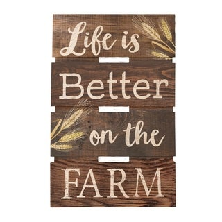 Life Is Better On The Farm Embellished Décor