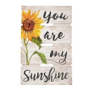 You Are My Sunshine Embellished Decor
