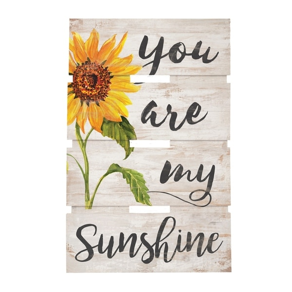 You Are My Sunshine Embellished Décor