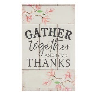 Gather Together And Give Thanks Embellished Décor