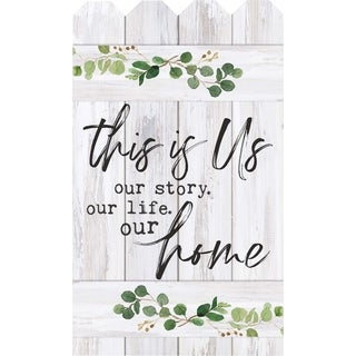 This Is Us Our Story Our Life Our Home Embellished Décor