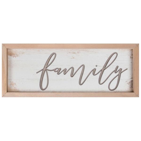 Family Framed & Carved Art