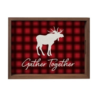 Gather Together Decorative Tray