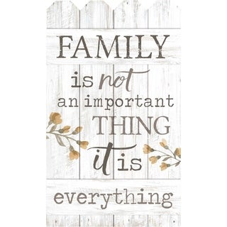 Family Is Not An Important Thing It's Everything Embellished Décor