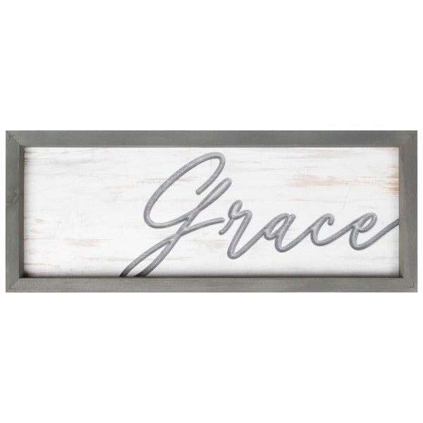 Grace Framed & Carved Art