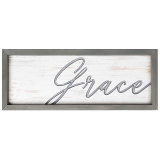 Grace Framed & Carved Art