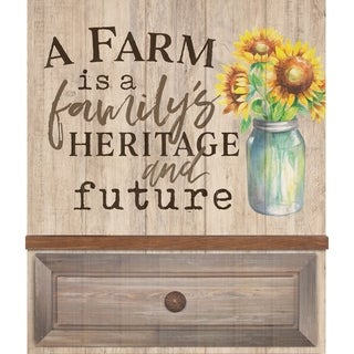A Farm Is A Family's Heritage And Future Embellished Décor