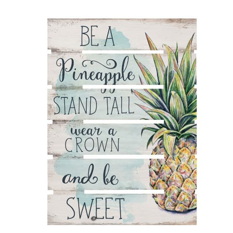 Be A Pineapple Embellished Decor