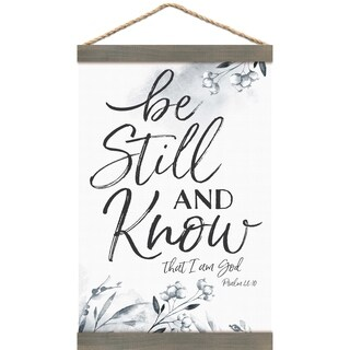 Be Still And Know That I Am God Banner Art