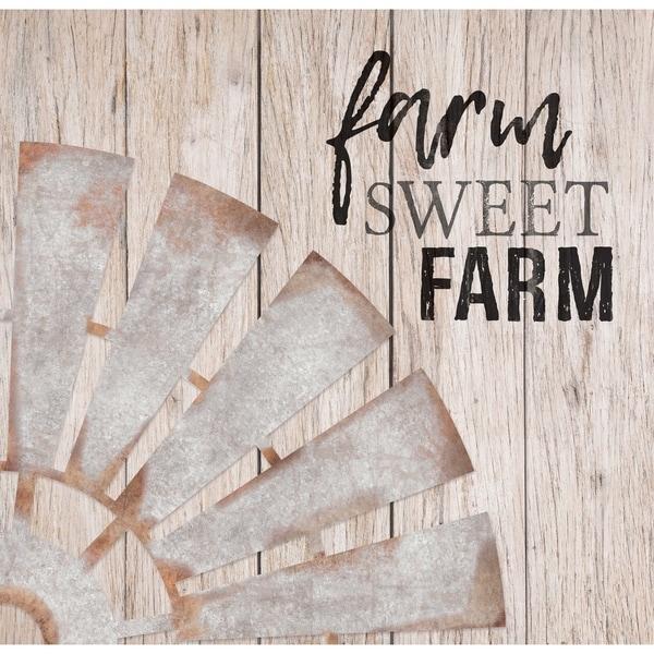 Farm Sweet Farm Embellished Décor