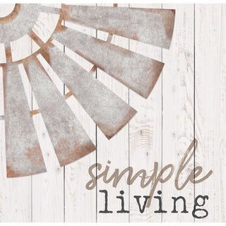Simple Living Embellished Décor