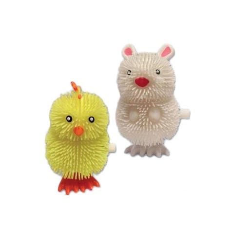 Easter Fun Happy Hopper Wind Ups. Bunny And Chicken Assortment, Single (Assorted/Color May Vary)