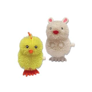 Dimple Easter Happy Hopper Wind Ups Bunny And Chicken Assortment Toys