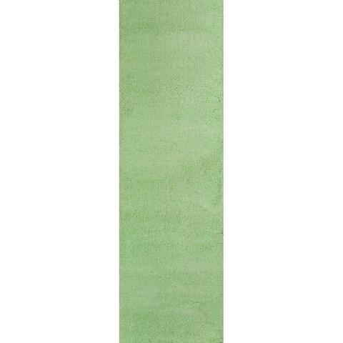 Domani Euphoria Cozy Spearmint Green Rug