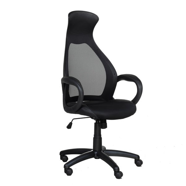 High-Back Executive Chair, Black