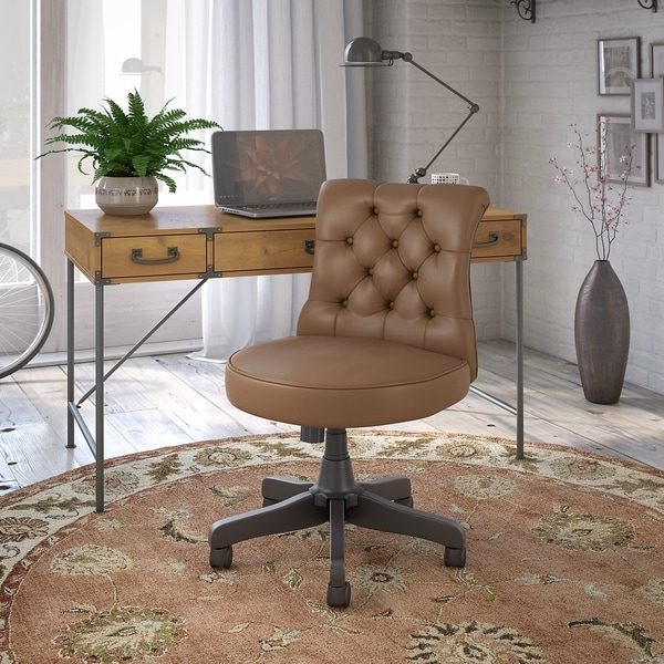 Shop Ironworks Desk With Chair From Kathy Ireland Home By
