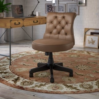 Ironworks Tufted Office Chair from kathy ireland Home by Bush Furniture