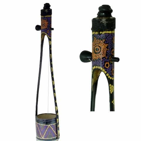Hand Crafted Gopichand with Aboriginal Design
