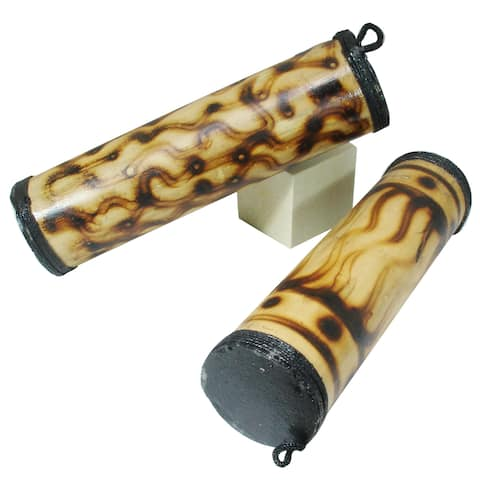 Bamboo Hand Shakers (Set of 2)